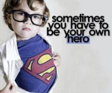 Hero smaller