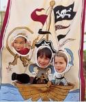 Pottery barn kids pirate banner