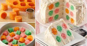 Food Polka Dot Cake