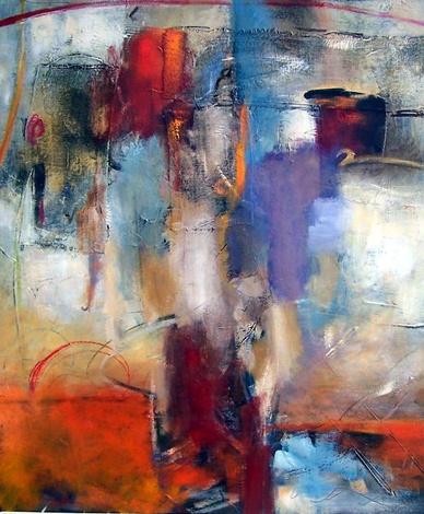 Artist, collaboration, Elli & John Milan, paint, Thessaloniki Greece