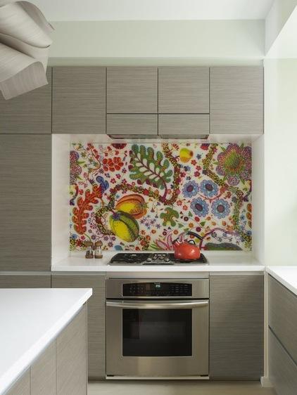 kitchen, Kitchen Backsplashes, no grout, seamless.