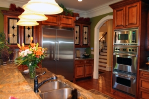 A luxury kitchen